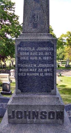 Priscilla <I>Scovell</I> Johnson