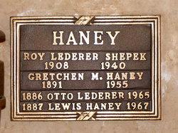 "Leroy Lederer ""Roy"" Shepek"