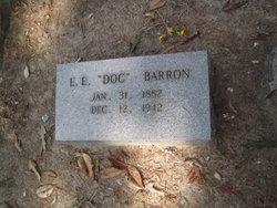 """E E """"Doc"""" Barron"""