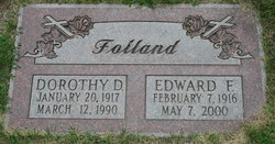 Dorothy D Folland
