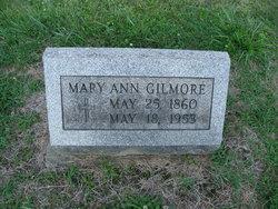 Mary Ann <I>Neville</I> Gilmore