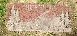 Ruth Mae <I>Hudson</I> Churchill