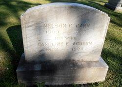 """Caroline E. """"Carrie"""" <I>Achorn</I> Carr"""