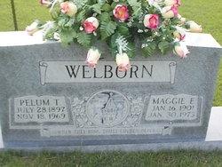 Maggie E. <I>Latham</I> Welborn
