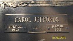Carol <I>Jeffords</I> Cannon