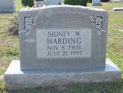 Sidney <I>Watson</I> Harding