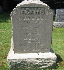 Ada E <I>Clark</I> Adams