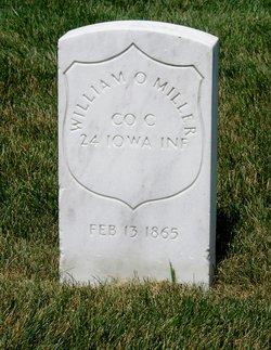 Pvt William O Miller