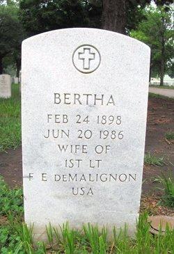 Bertha Demalignon