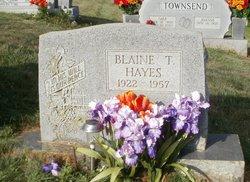 Blaine Thomas Hayes