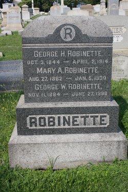 George Hamilton Robinette Sr.