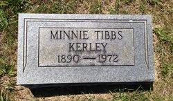 Minnie <I>Tibbs</I> Kerley