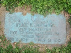 Pvt Fred E Quimby