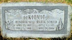 "Hendrik Albertus ""Hank"" DeKievit"