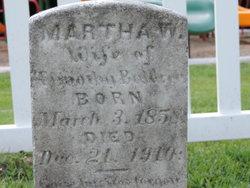 Martha <I>Williams</I> Baldree