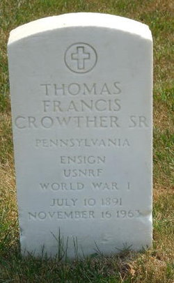 Thomas Francis Crowther, Sr
