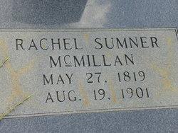 Rachel <I>Sumner</I> McMillan