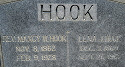 Lena <I>Johnson</I> Hook