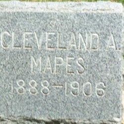Cleveland A Mapes