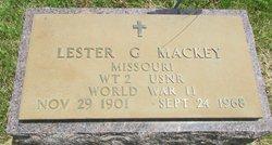 Lester G Mackey