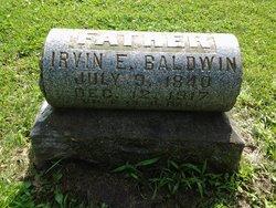 Irvin Edmond Baldwin
