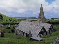 St Enodoc Churchyard