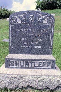 Ruth A. <I>Pike</I> Shurtleff