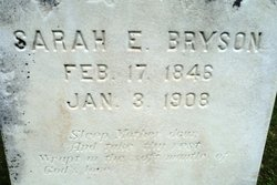 Sarah E <I>Waters</I> Bryson