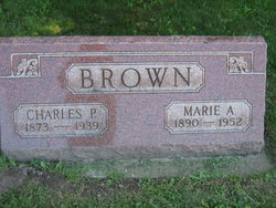 Maria A <I>Warnock</I> Brown