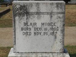 Blair McGEE