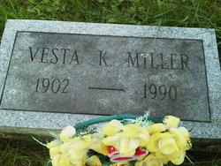Vesta Pearl <I>Knight</I> Miller