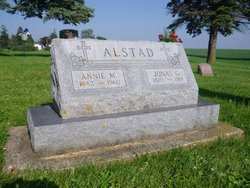 Annie Marie <I>Johnson</I> Alstad