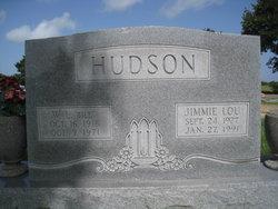 Jimmie Lou <I>O'Brien</I> Hudson