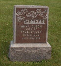 Anna <I>Olson</I> Bailey