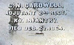 Lieut George N Cardwell