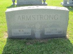 "Mary Elizabeth ""Lizzie"" <I>Nix</I> Armstrong"