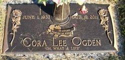 Cora Lee <I>Widdifield</I> Ogden