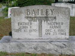 Fannie Mae <I>Hardman</I> Bailey