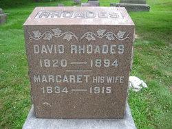 Margaret <I>Machamer</I> Rhoades