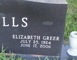"Elizabeth Greer ""Betty"" Mills"