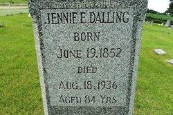 Jennie E <I>Smith</I> Dalling