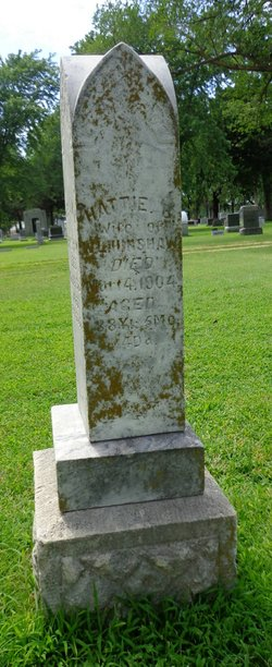"Harriett E ""Hattie"" <I>Batson</I> Hinshaw"
