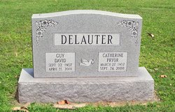 Catherine <I>Pryor</I> Delauter