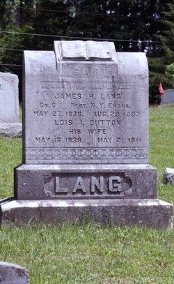 James H Lang