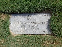 Leon Agranowitz