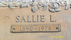 Sallie Lee <I>Binnicker</I> Binnicker