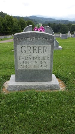 Mary Emmaline <I>Parlier</I> Greer
