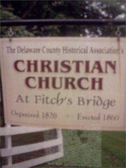 Christian Church Cemetery at Fitch's Bridge