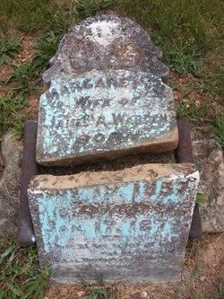 Margaret Jane <I>Dodson</I> Warden