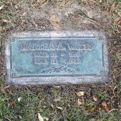 Martha Ann Watts